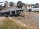 En  fatal accidente sobre cruce de rutas hermanos perdieron la vida