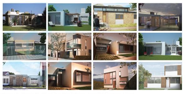 Est n disponibles en la web de procrear 12 nuevos modelos for Casas procrear precios